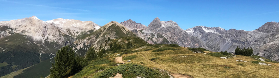 Unterwegs auf dem Aussichtsberg Crap de la Pare