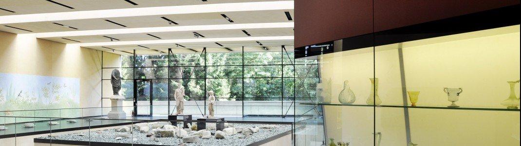 Das Museum zeigt zahlreiche Funde aus Aguntum