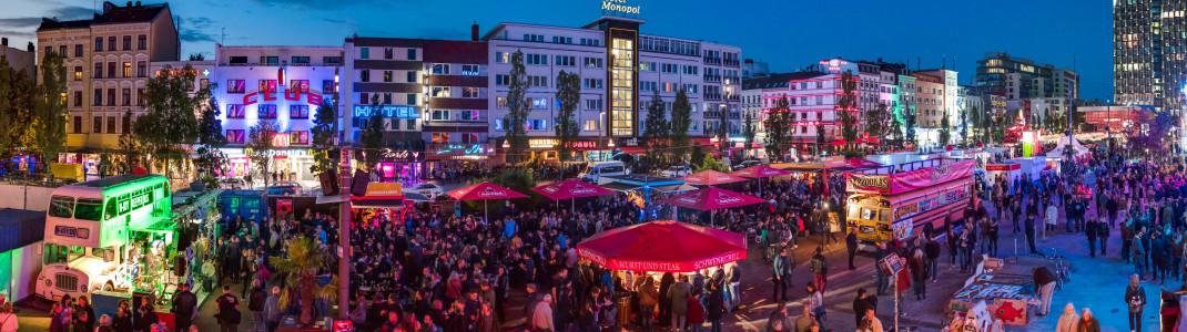 Das Reeperbahn Festival Ende September ist das größte Clubfestival Europas.