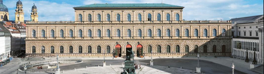 Die Residenz München ist ein Highlight der Münchner Museumslandschaft.