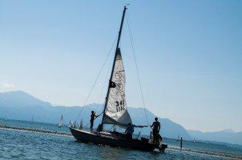 Schwimmen, Segeln, Genießen - der bayerische Chiemsee ist ein ideales Ausflugsziel für heiße Tage!