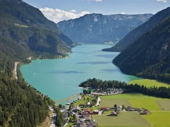 Blick auf den Achensee.