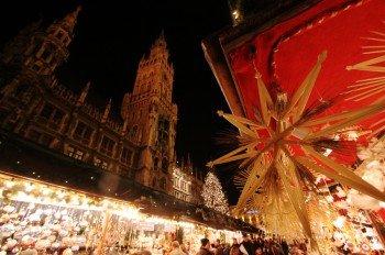 Der Weihnachtsmarkt in der Münchener Innenstadt ist international beliebt.