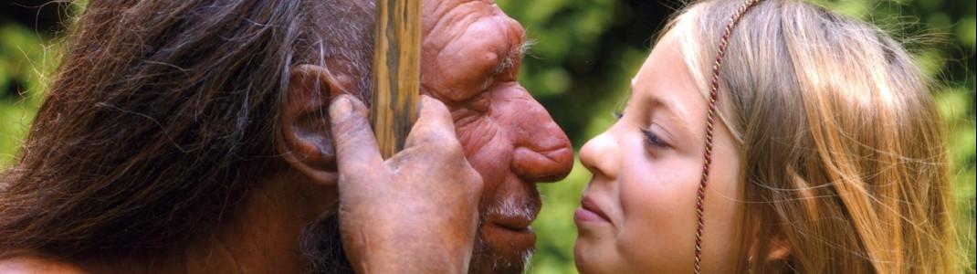 Auf Tuchfühlung mit dem Neanderthaler.