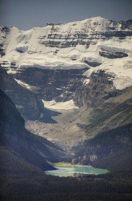 Lake Louise und der Victoria-Gletscher