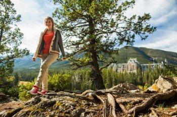 In der Region Banff Lake Louise herrscht hochalpines Klima