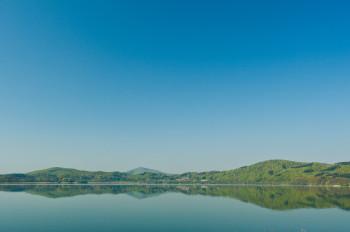 Der Laacher See ist der größte See in Rheinland-Pfalz.