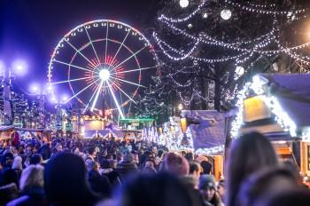 Der Winter Wunder Markt in Brüssel verbindet Tradition und Innovation.