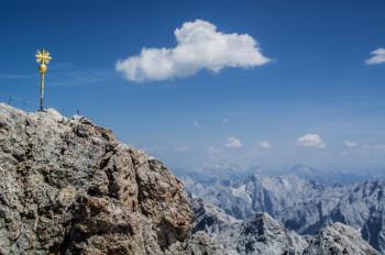 Die Zugspitze - Deutschlands höchster Gipfel.
