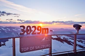Atemberaubende Ausblicke am Kitzsteinhorn.