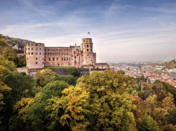 """Poeten verewigten Schloss Heidelberg in ihren Schriften als den """"Inbegriff einer romantischen Ruine über dem Neckar"""""""