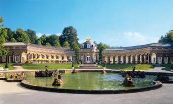Das Neue Schloss Eremitage ist eines der beliebtesten Ausflugsziele in Franken