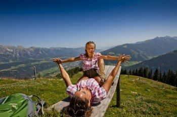 Den Sommer kannst du in der Region Planai-Hochwurzen herrlich mit deiner Familie genießen.