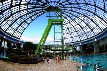 Im AQUApark Oberhausen steht alles im Zeichen des Bergbaus.