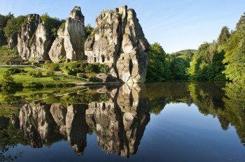 """Das """"Stonehenge des Teutoburger Waldes"""" - die Externsteine"""