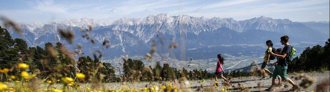 In der Region Hall-Wattens gibt es viele familienfreundliche Wanderwege.