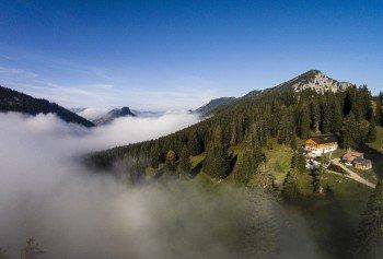 Gufferthütte von oben