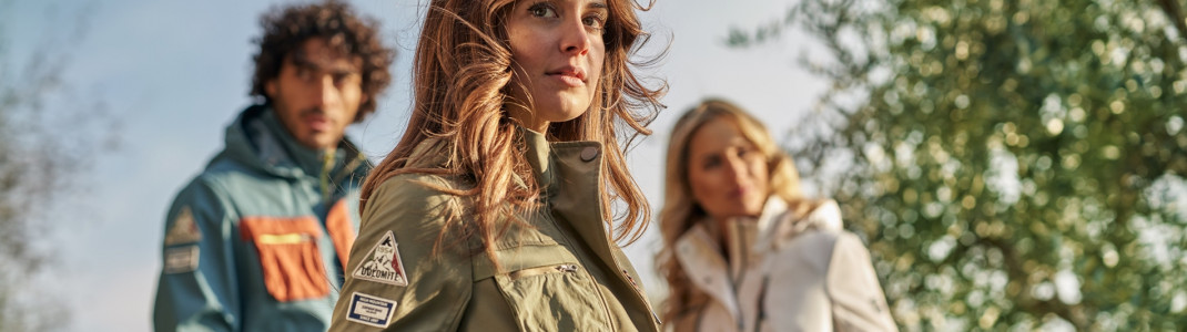 Dolomite offers sophisticated, sporty fashion for outdoor enthusiasts.