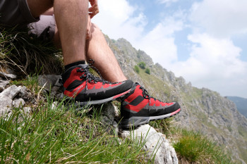Hiking shoes from Dolomite impress with their quality.