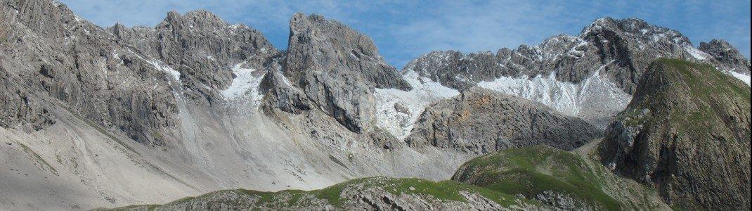 Beeindruckende Panoramen und unvergessliche Bilder erfährst du bei der Alpenüberquerung von Oberstdorf nach Meran bei jeder Etappe