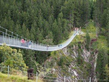 Österreichs längste Hängebrücke ist das Highlight der zweiten Etappe