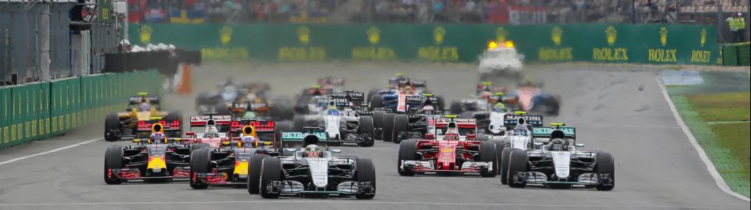 Von 20. bis 22. Juli 2018 ist die Formel 1 auch wieder am Hockenheimring zu Gast.
