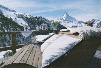 Luxuriöse Entspannung mit Blick aufs Matterhorn