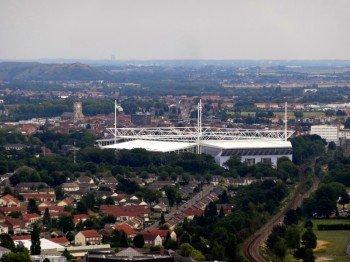 Das Stade Bollaert-Delelis im neu renovierten Zustand
