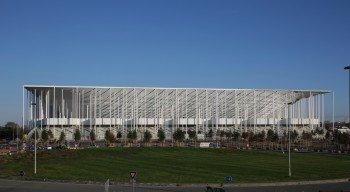Das Matmut Atlantique wurde vom selben Architekten entworfen, der auch für die Münchener Allianz Arena oder das Nationalstadion in Peking verantwortlich war