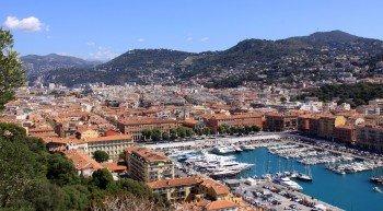 Auch die Hafenstadt Nizza an der Côte d'Azur ist ein Standort der EM 2016