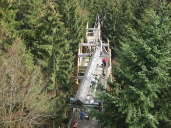 Im österreichischen Kopfing befindet sich der längste Baumkronenweg der Welt