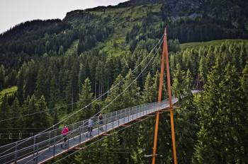 Unterwegs auf der Golden Gate Bridge der Alpen