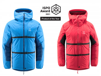 The Nordic Expedition Down Jacket by Haglöfs was awarded Product of the Year.