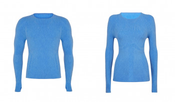 The Drynamo Merino ECO LS Crew Baselayer by adidas TERREX is optimal for training and competition.