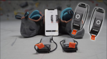 Climbax is a sport tracker from Mammut for active sport climbers.