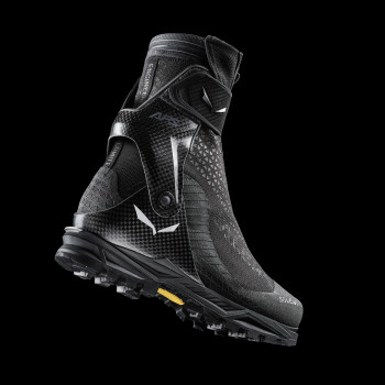 The design of the Ortles Couloir Boot from Salewa is intended to provide more precision when climbing.
