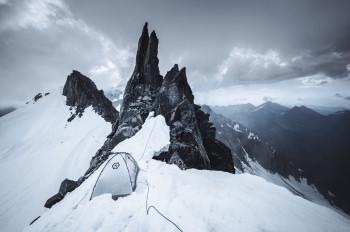 The Samaya Assaut2 Ultra is an extremely lightweight tent for high altitudes.