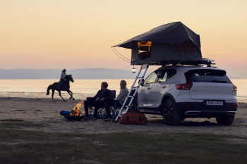 The Tepui Foothill roof tent offers space for two people.