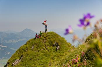 Einmalige Bergerlebnisse und grandiose Aussichten in den Kitzbüheler Alpen erwarten dich.