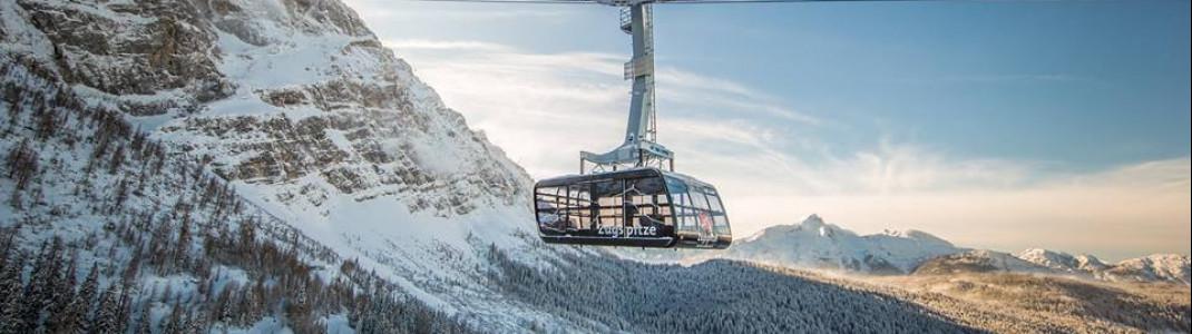 Bricht gleich 3 Rekorde: Die neue Seilbahn Zugspitze