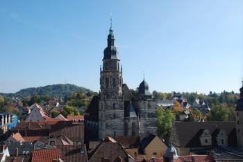Zweiter Ausstellungsort: In der Kirche St. Moriz predigte Martin Luther im Jahr 1530 insgesamt sieben Mal.