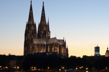 Cologne Cathedral is one of the most visited sights in Germany.