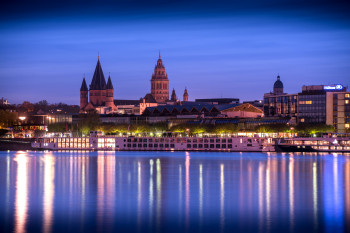 The impressive Mainz Cathedral has been preserved in its original basic form to this day.