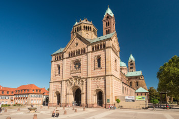 Speyer Cathedral is considered the largest preserved Romanesque church in the world.