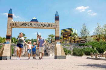 Das Legoland Deutschland führt seine Besucher auf eine abenteuerliche Reise ins antike Ägypten.