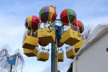 Im Heide Park wartet Peppas Ballonfahrt auf die kleinen Gäste.