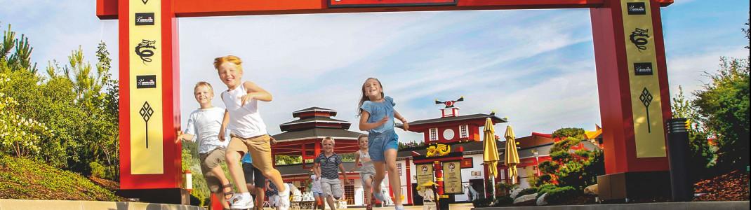 Auch 2020 warten in den Freizeitparks wieder zahlreiche Neuheiten, z.B. im Legoland.