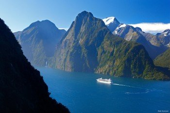 Der Milford Sound gehört zu den Besuchermagneten Neuseelands.