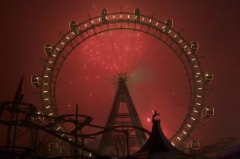 Fireworks in Vienna