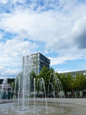"""Der Klostergarten in der """"Neuen Mitte"""" lädt zum Entspannen ein"""